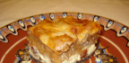 Jablkovotvarohový koláč